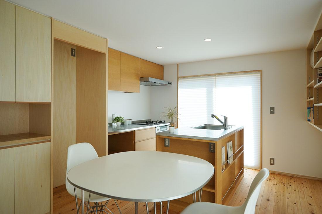 豊川・八幡の家 造作オリジナルキッチン