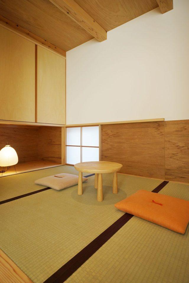 豊川・八幡の家 タタミスペース