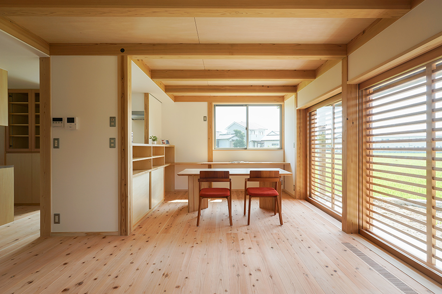 掛塚の家 内観
