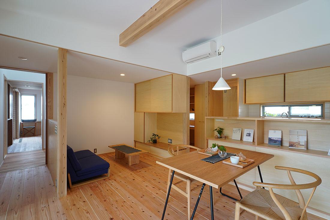 中岩田の家 キッチン・ダイニング