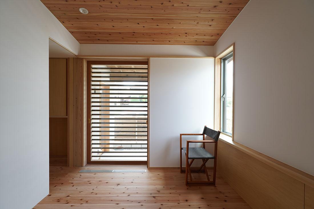 中岩田の家 全開口木製建具