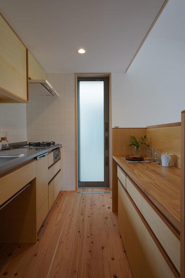 中岩田の家 キッチン