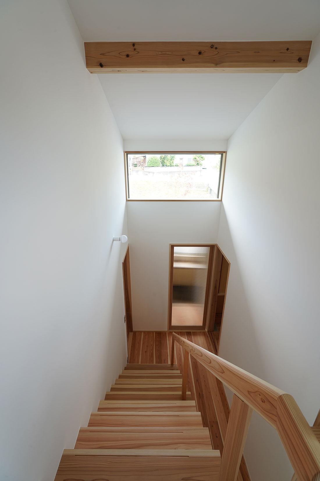 中岩田の家 階段