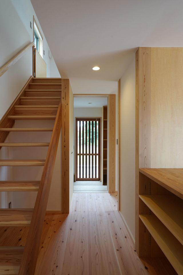 大瀬の家 木製網戸