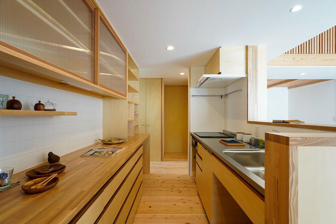 壱貫地の家 キッチン