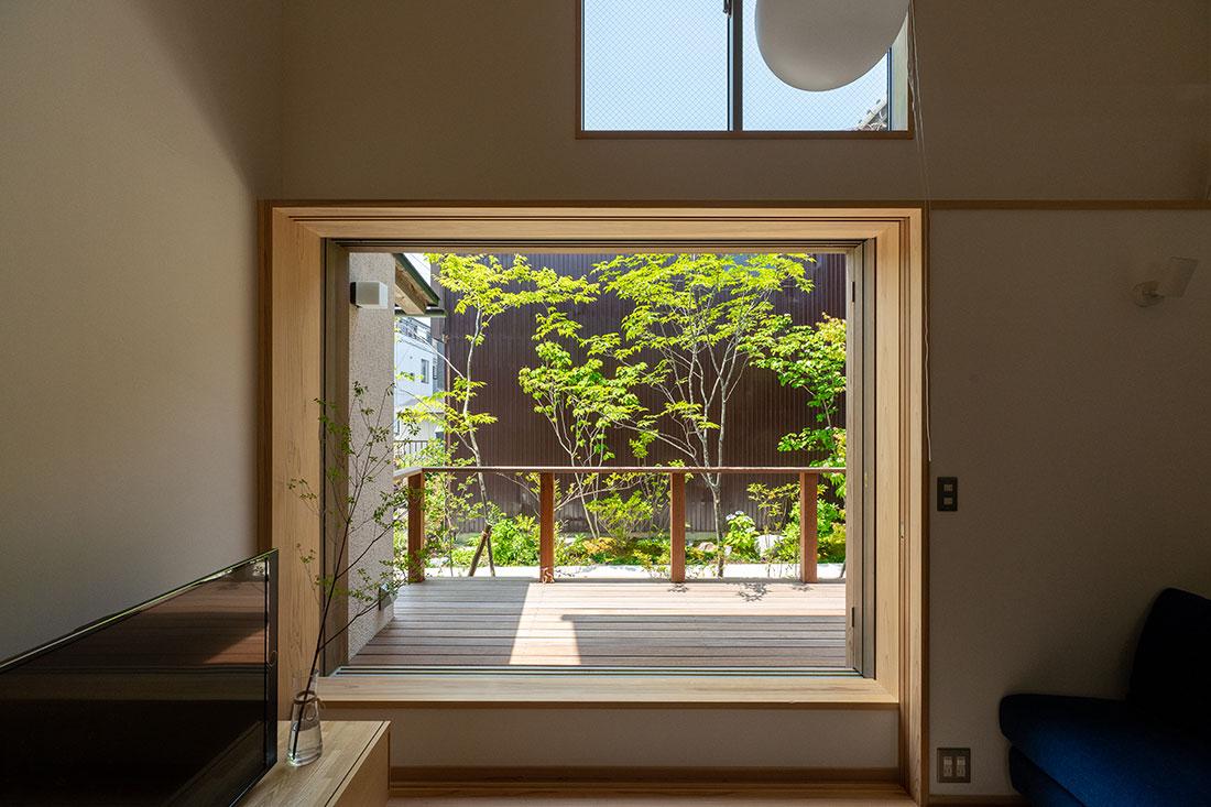 北寺島の家 開口部